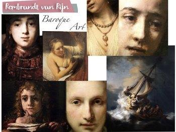 BUNDLE - Baroque Art History - Vermeer Bernini Rubens Rembrandt - 853 Slides