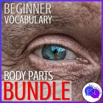 BUNDLE:  Beginner ESL Vocabulary:  Body Parts