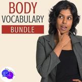 BUNDLE:  Beginner ESL Vocabulary:  Body Parts