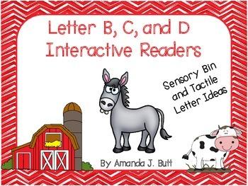 BUNDLE!!!  Beginning Sounds; B, C, D Interactive Readers; CVC; Blends; First;