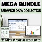 MEGA BUNDLE Behavior Data Collection Resources