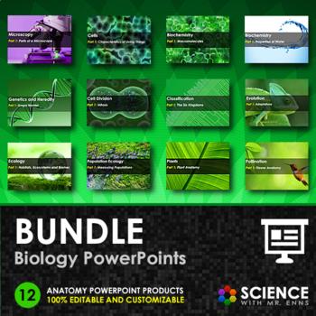 BUNDLE - Biology PowerPoints