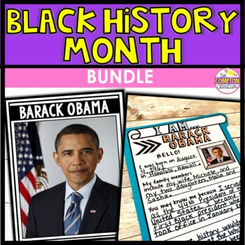 BUNDLE: Black History Month Posters + Research Templates