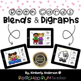 BUNDLE: Blends and Digraphs!  Boom Cards (3 Decks)