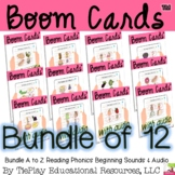 BUNDLE Boom Cards Beginning Sounds A to Z  Phonics Reading