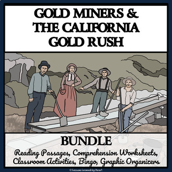 BUNDLE - CALIFORNIA GOLD RUSH