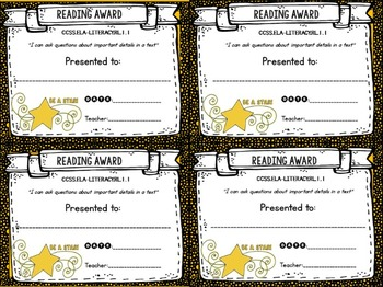 BUNDLE: CC Tracking Forms and Awards