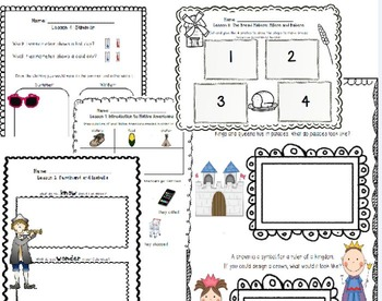 BUNDLE: CKLA Kindergarten Listening and Learning Domains 6-10