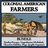 BUNDLE- COLONIAL AMERICAN FARMERS