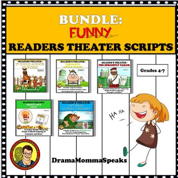 COMICAL READER'S THEATER SCRIPTS AND UNITS BUNDLE
