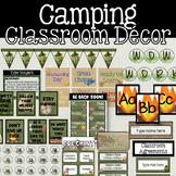 BUNDLE: Camping Classroom Theme Decor