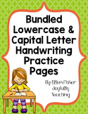 BUNDLE Capital and Lowercase Handwriting Practice