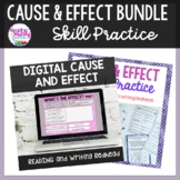 BUNDLE Cause and Effect Digital and Printable