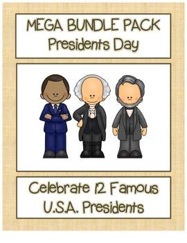 BUNDLE 75%+ OFF!  Celebrate 12 U.S. Presidents Search,Scra