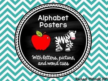 BUNDLE Chevron Alphabet Posters & Blend/Digraph Posters