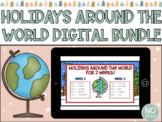 BUNDLE!! - Christmas Around the World for Google Slides