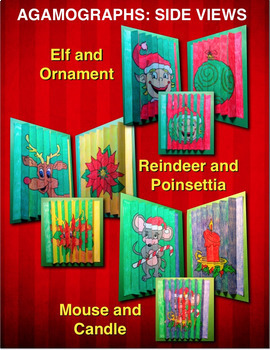 Christmas Crafts and Activities BUNDLE: Ornaments and Agamographs—Save 15%