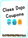 BUNDLE:Class Dojo Reward Coupons, Choice Board poster & Weekly Tracking Sheet