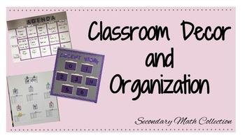 BUNDLE: Classroom Decor + Organization (Bulletin Board, Ta