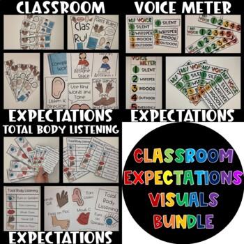 BUNDLE Classroom Expectations Visuals