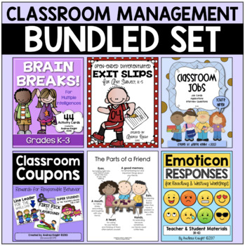 BUNDLE:  Classroom Management Resources