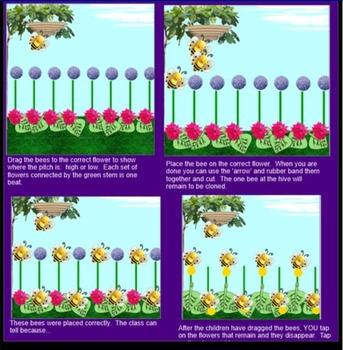 BUNDLE-Cobbler Cobbler, Rain Rain, Bee Bee (high / low, beat) Smartboard