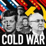 Cold War US vs. Soviet Union 1945-1990 Reading Writing Activity Bundle