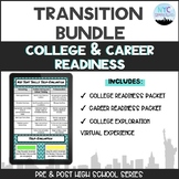 BUNDLE: College & Career Readiness Packets