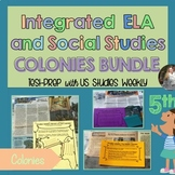 BUNDLE Colonies; Integrated ELA FSA Practice with S.S. SAVE 25%