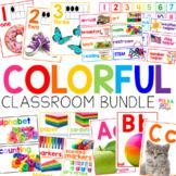 Classroom Decor with Photographs BUNDLE