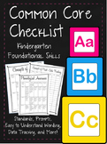 BUNDLE Common Core K Standards Made Easy w/ Rubric, Data Tracking (ELA)
