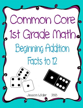 BUNDLE! - Common Core Math - 1st Grade - Parts 1-4