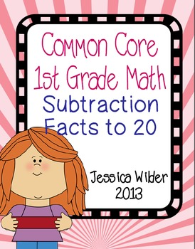 BUNDLE! - Common Core Math - 1st Grade - Parts 5-8