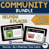 BUNDLE: Community Helpers & Places BOOM CARDS- Digital Task Cards