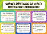 BUNDLE: Complete Set of Smartboard lessons for Math Invest