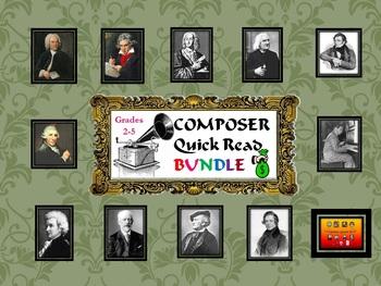 BUNDLE: Composer Quick Read Grades 2-5