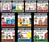 Compréhension de lecture et Colorie l'image - ENSEMBLE COMPLET/BUNDLE