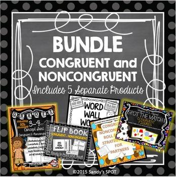 BUNDLE Congruent and Noncongruent Virginia SOL Aligned