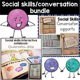 Conversation and social skills supports | Interactive note