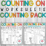 BUNDLE: Counting On Worksheets