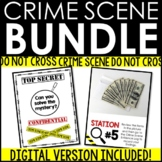 BUNDLE Crime Scene/Mystery Files Creative Writing Activities