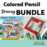 BUNDLE- Crystal Gem Colored Pencil and Zentangle Gem