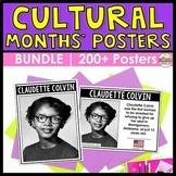 BUNDLE   Cultural Heritage Month Posters