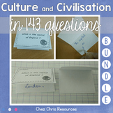 Culture and Civilisation Questions BUNDLE - for ESL students