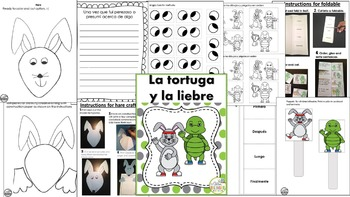 BUNDLE DE FABULAS/ FABLES {IN SPANISH}