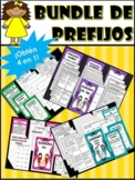 BUNDLE DE PREFIJOS/ PREFIX BUNDLE IN SPANISH