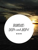 BUNDLE DOPs and IOPS: Handouts and Worksheets
