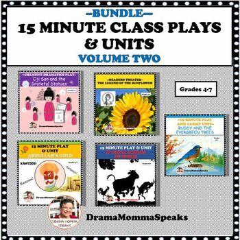 BUNDLE:  DRAMA PLAYS AND UNITS, VOLUME 2
