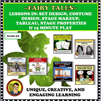 DISTANCE LEARNING BUNDLE:  DRAMA UNITS AND LESSONS USING FAIRY TALES