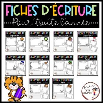 BUNDLE Daily Journaling Prompts/ENSEMBLE-Écriture quoditienne pour l'année